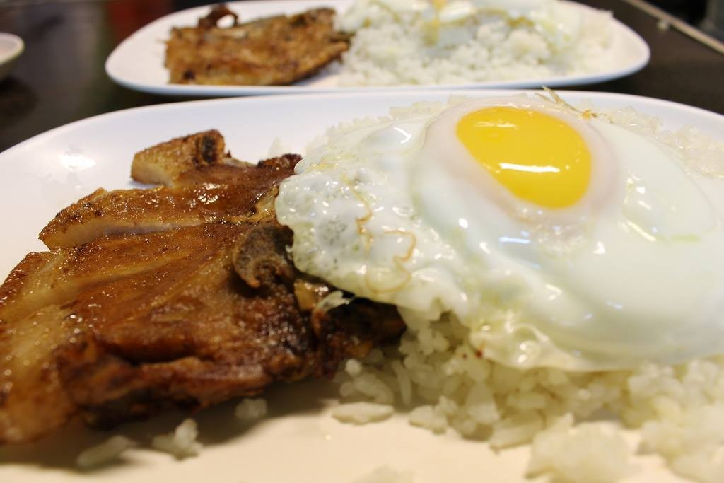 Atoy's at BF Aguirre (and at BF Resort) deliver the best-tasting porkchop in a comfort food.