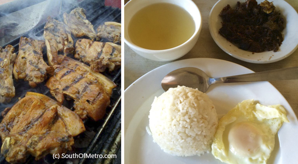 Besides the Tapsilog, Maty's serves inihaw na porkchop, pork barbeque, pansit bihon and canton, and many more.