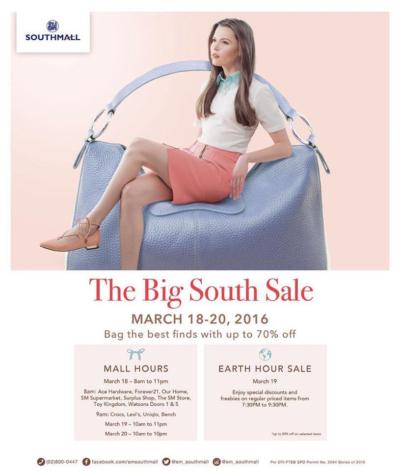 south sale
