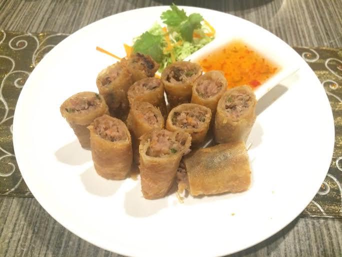 Thai Spring Rolls 2