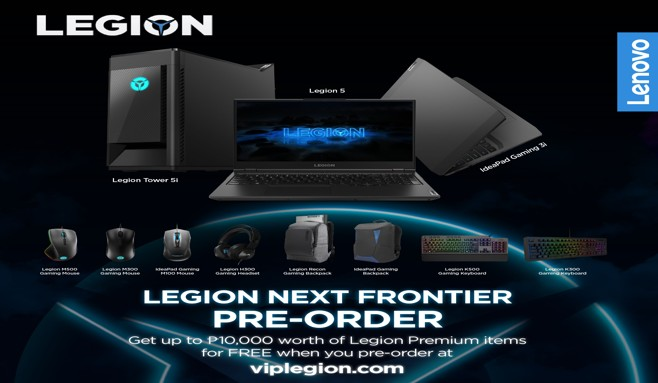 Pre-order the new Lenovo Legion devices and get exciting accessory bundles for free 2020 - South Of Metro